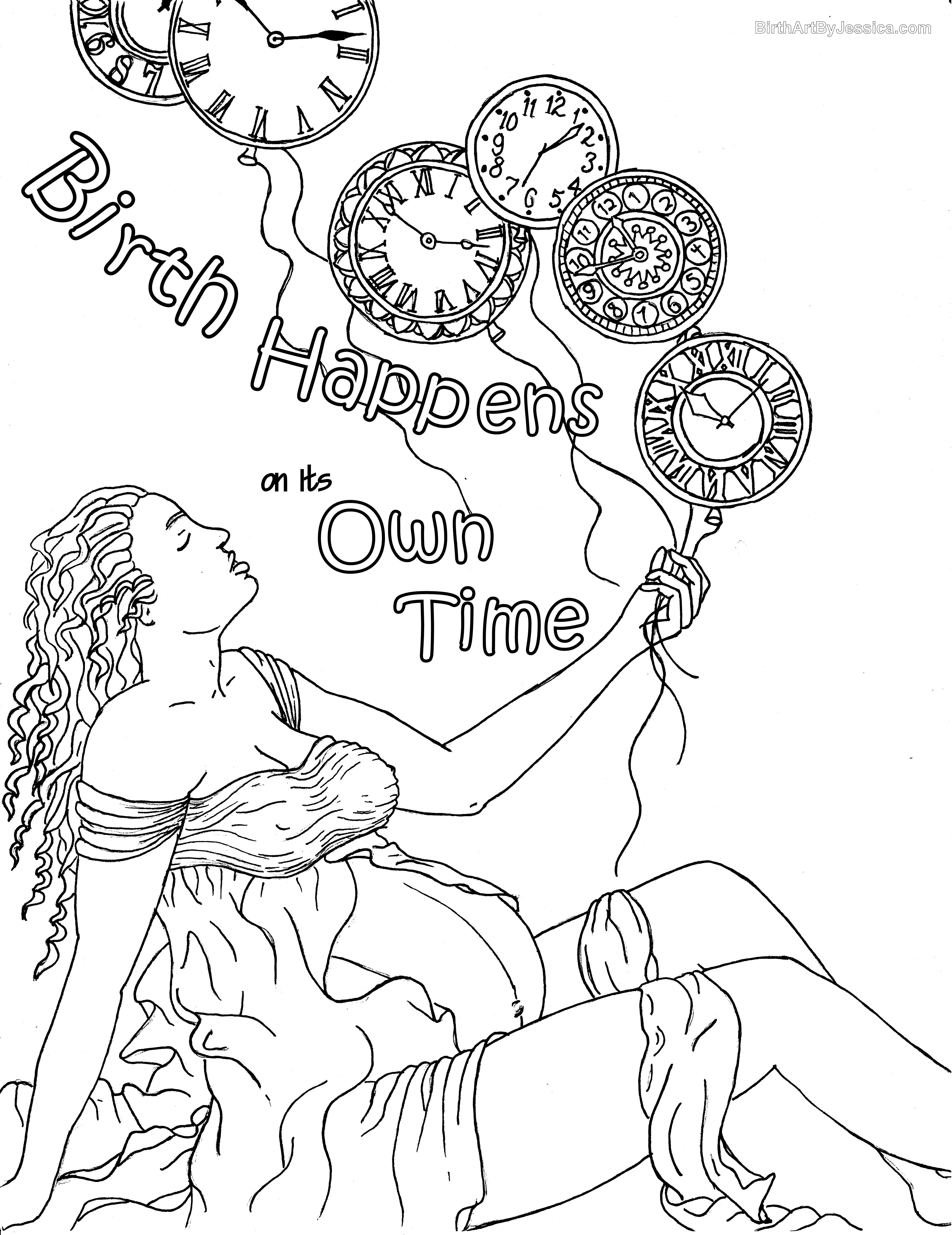 5100x6614 Fresh Coloring Pages Of Pregnant Woman