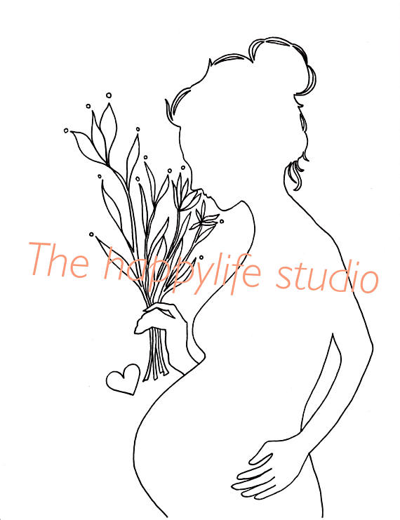 570x741 Pregnant Coloring Page Pregnancy Coloring New Mom Coloring