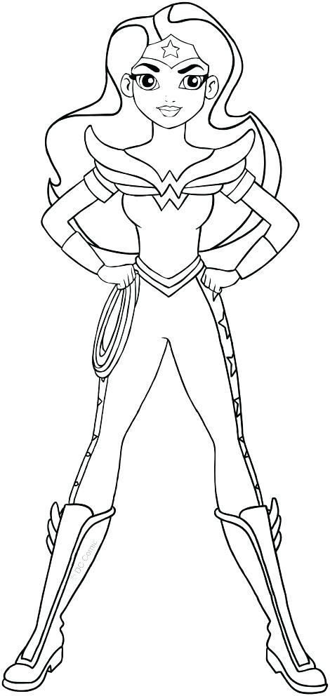 470x992 Wonder Woman Coloring Pages Also Woman Coloring Page Coloring Page