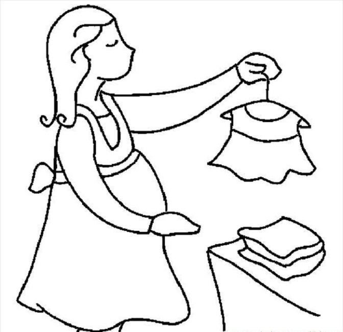 672x650 Pregnant Woman Coloring Pages Woman
