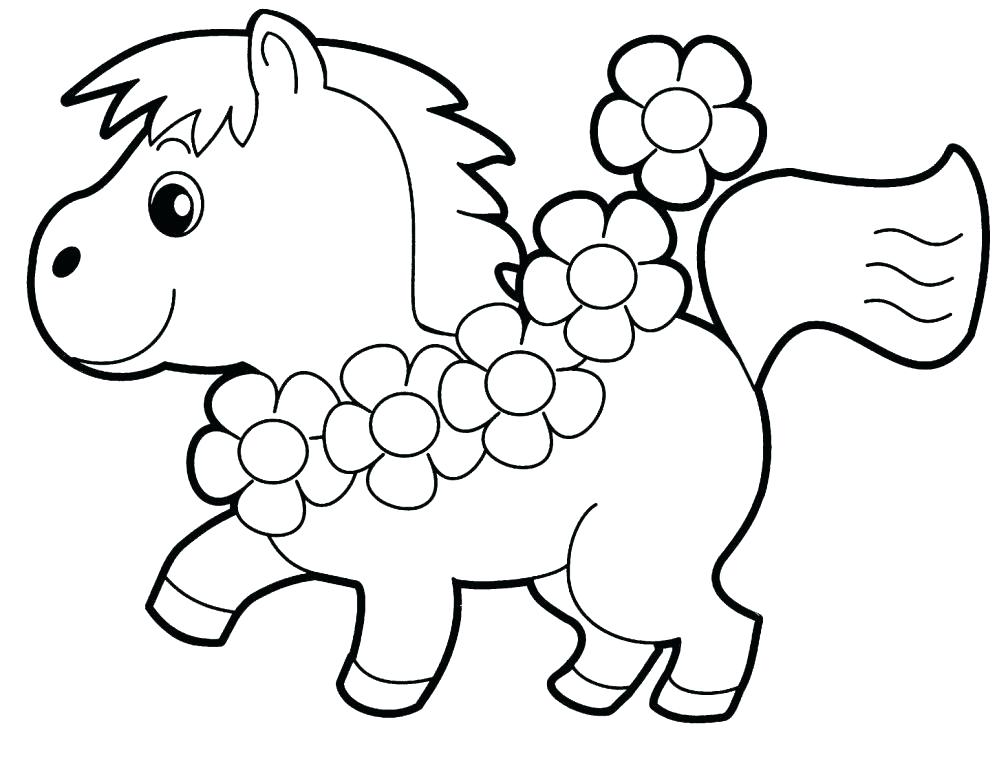 Preschool Animal Coloring Pages At Getdrawings Com Free