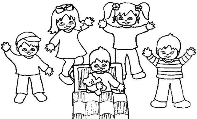 640x388 Preschool Christmas Coloring Pages Full Desktop Backgrounds