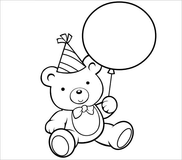 Preschool Coloring Pages Pdf