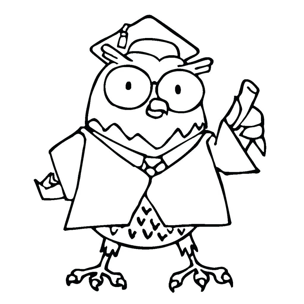 Preschool Graduation Coloring Pages At Getdrawings Com Free For
