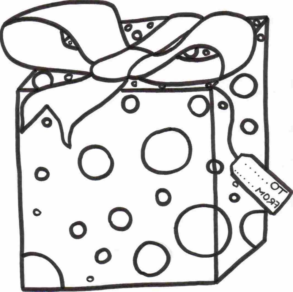 956x953 Christmas Present Coloring Pages Coloring Pages Kids
