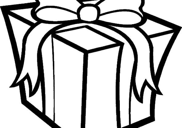 600x425 Christmas Present Coloring Pages Big Box Of Christmas Presents