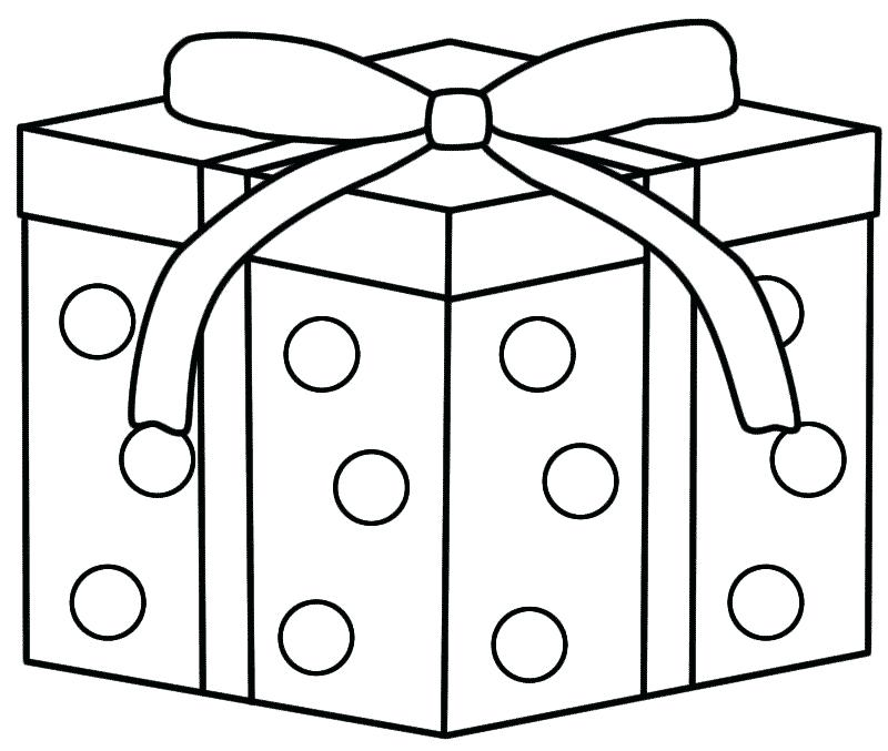 800x677 Best Present Coloring Pages About Remodel Gift Box Presents Gifts