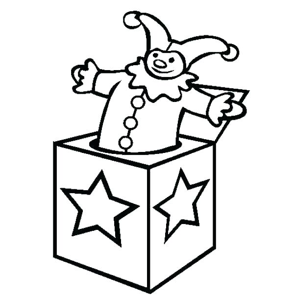 600x612 Box Coloring Page Box Coloring Page Present Coloring Page Box