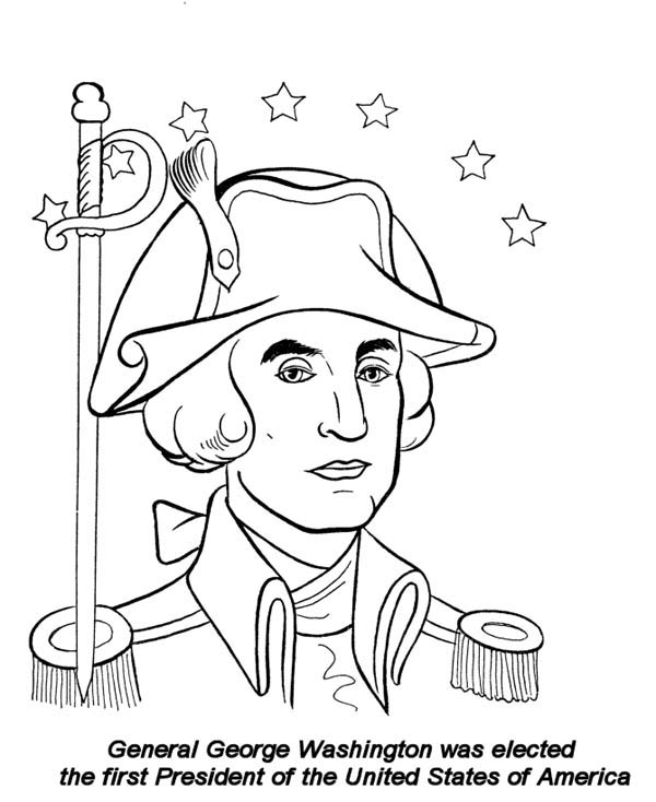 President Coloring Pages For Kids At Getdrawings Com Free For