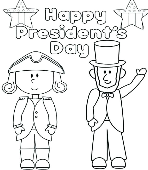 618x710 Great Presidents Day Coloring Pages New Free Printable Kids Us