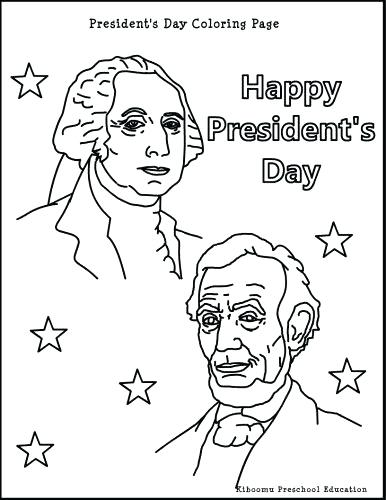 386x500 President Coloring Page Presidents Pages Printable Murs