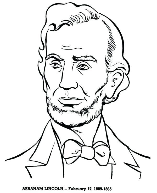 600x734 Presidents Coloring Pages Presidents Coloring Pages Coloring Page