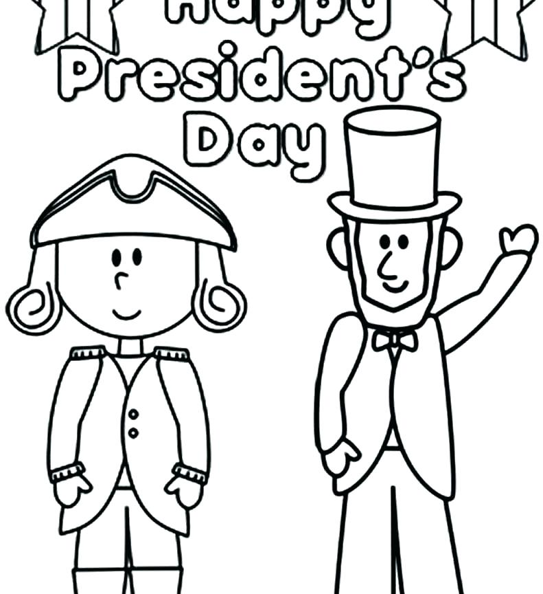 791x864 Presidents Day Coloring Pages Printable Presidents Day Coloring