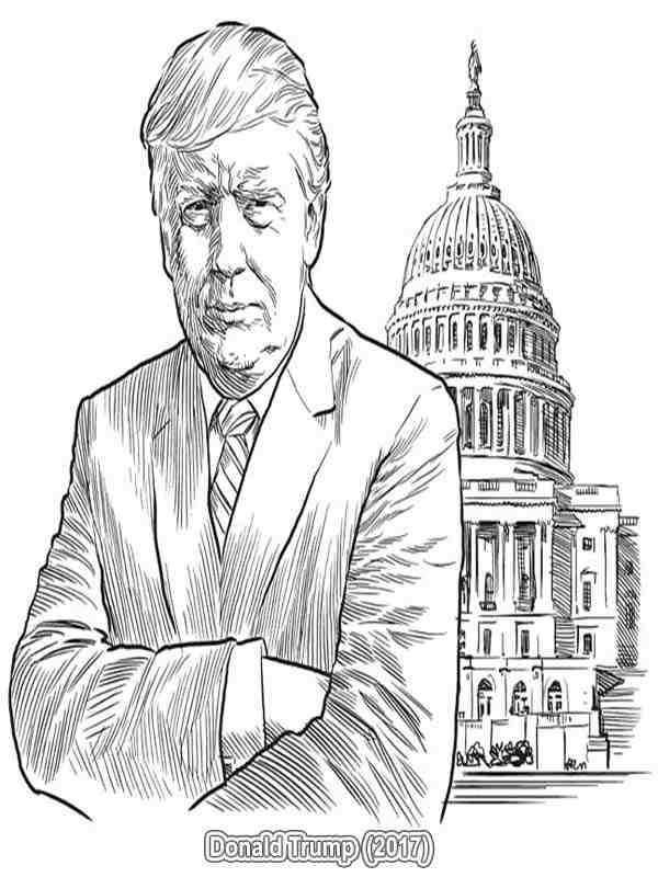 600x800 Us President Coloring Pages