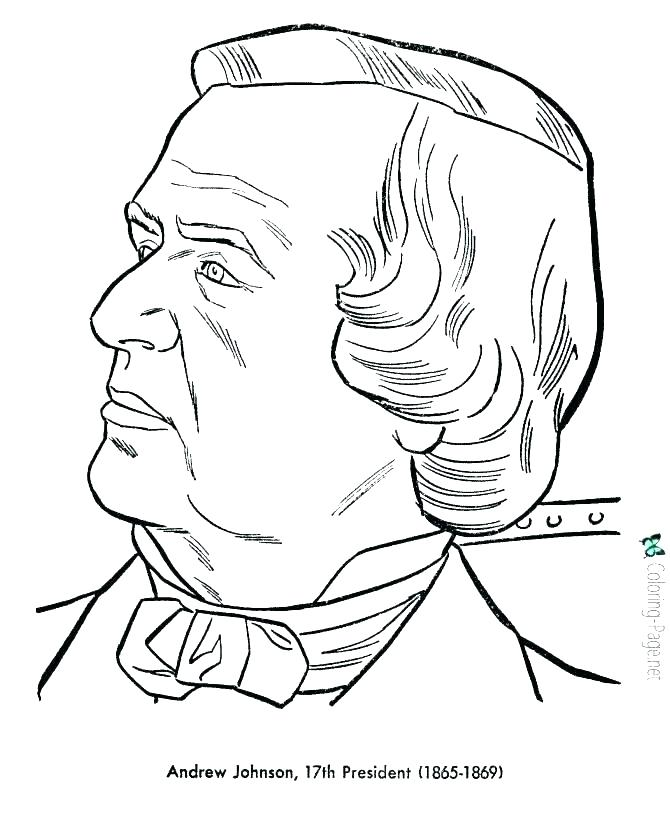 670x820 Donald Trump Coloring Pages Printable Collection Presidents