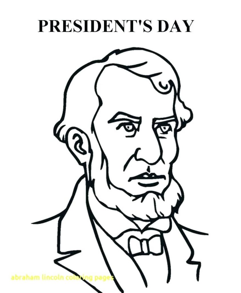 843x1024 Abraham Lincoln Coloring Pages Msyldt New Page