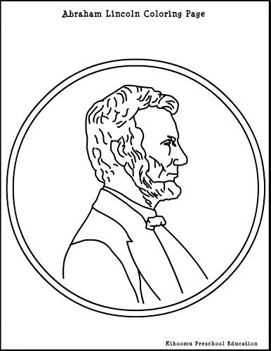 386x500 Abraham Lincoln Presidents Day Coloring Page For Kids! Here