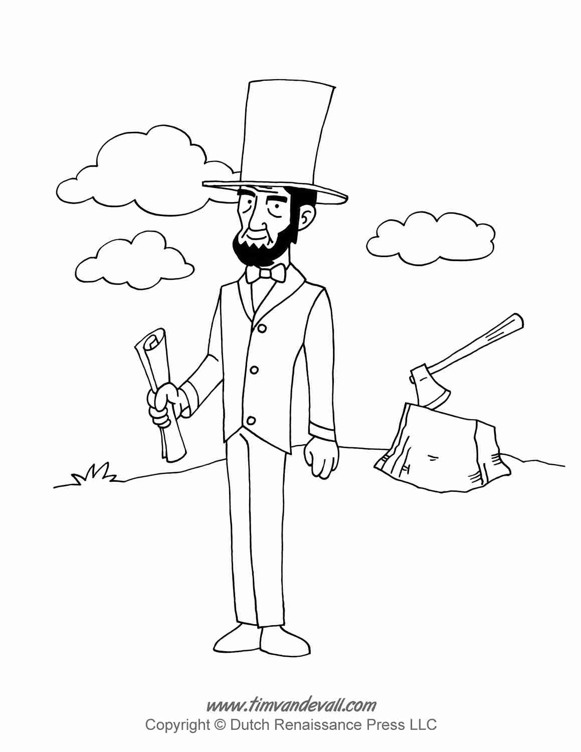 1159x1500 Download Abraham Lincoln Coloring Page In New Trends