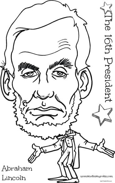 368x583 Abraham Lincoln Coloring Page