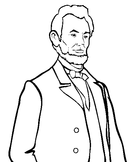 The Best Free Abraham Lincoln Coloring Page Images Download From 637 Free Coloring Pages Of Abraham Lincoln At Getdrawings