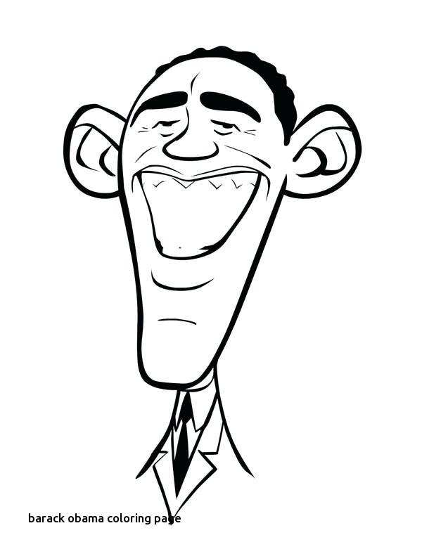 600x788 Barack Obama Coloring Page Hotellospinosfo For Barack Obama