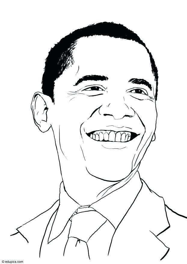 622x880 Barack Obama Coloring Pages Download Large Image Barack Obama