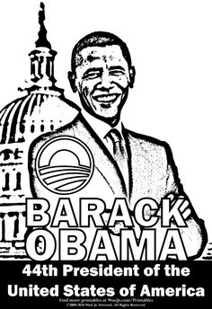 236x344 Free Printable President Barack Obama Facts And Coloring Picture