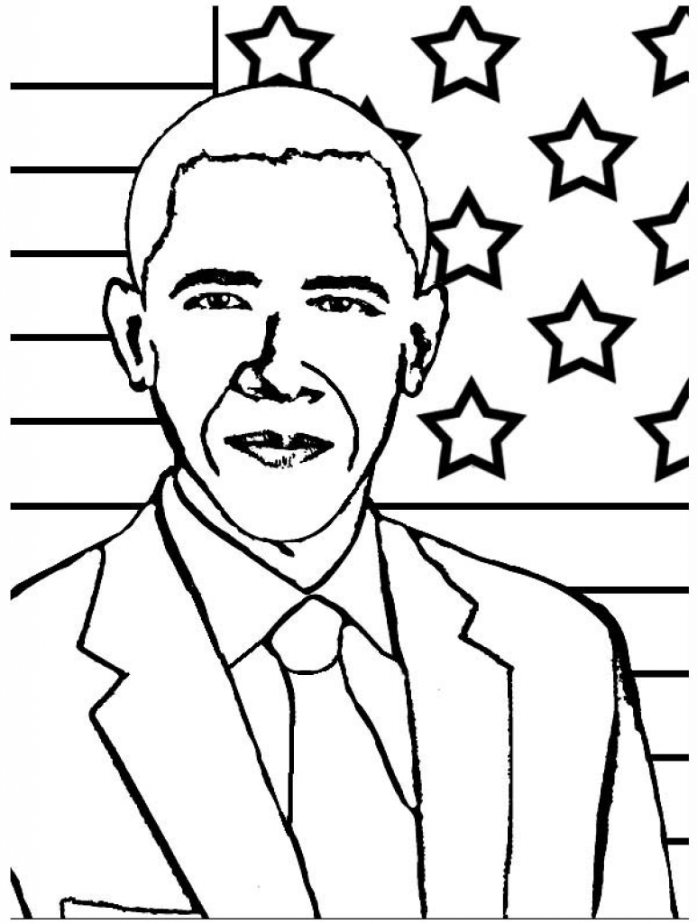 773x1024 new president obama coloring pages free better