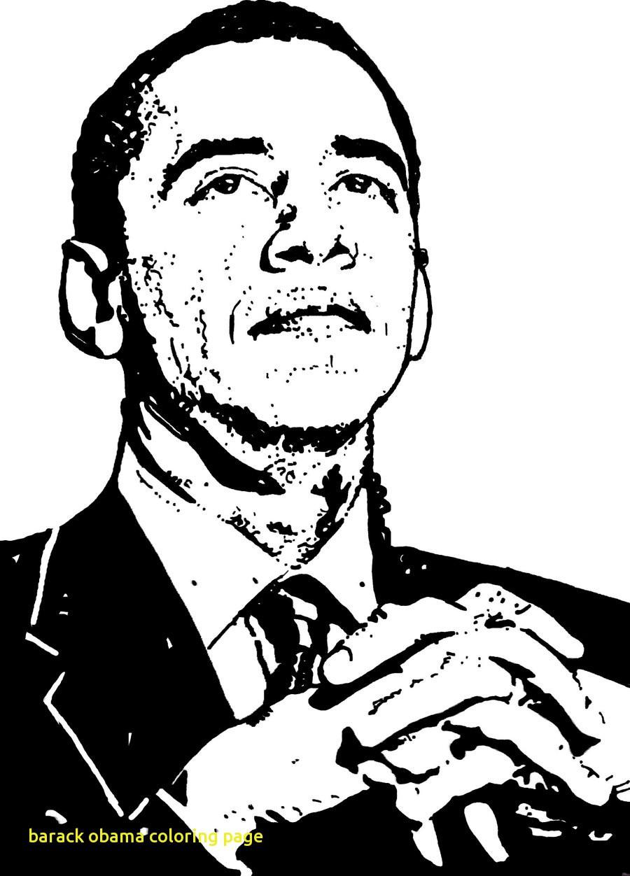 900x1252 Barack Obama Coloring Page