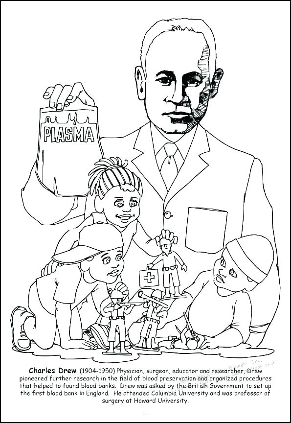 595x864 Printable Barack Obama Coloring Pages