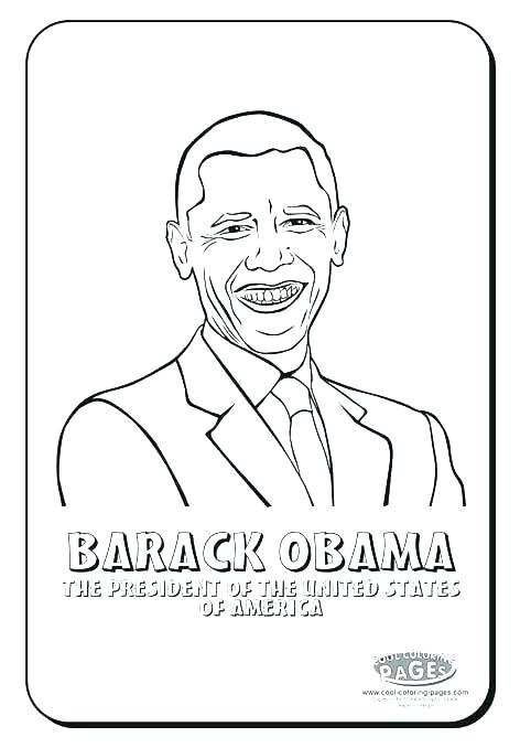 472x678 Barack Obama Coloring Page Pdf Book Also And Printable P Fuhrer
