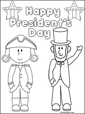 Presidents Day Coloring Pages Preschool