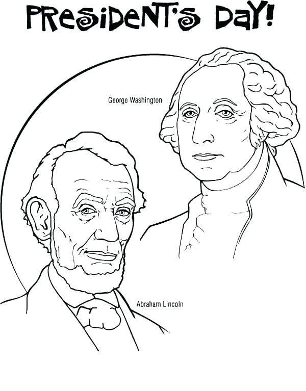 600x767 Presidents Coloring Pages Us Presidents Coloring Pages Best