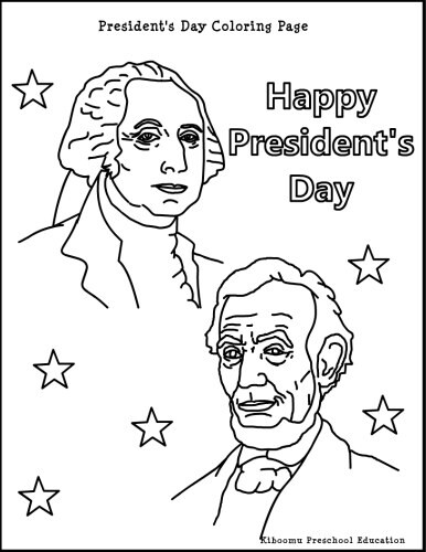 386x500 Presidents Day Coloring Page President's Day Crafts Activities
