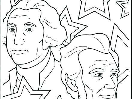 440x330 Presidents Day Coloring Page Presidents Day Coloring Pages