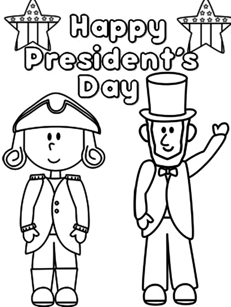791x1053 Presidents Day Coloring Pages Download
