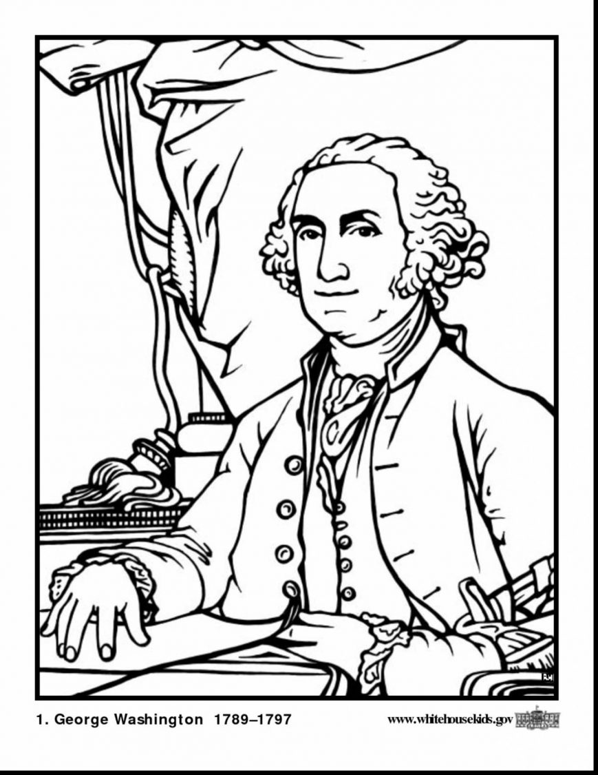 869x1125 Presidents Day Coloring Pages Photos Concept Pdf For Kindergarten
