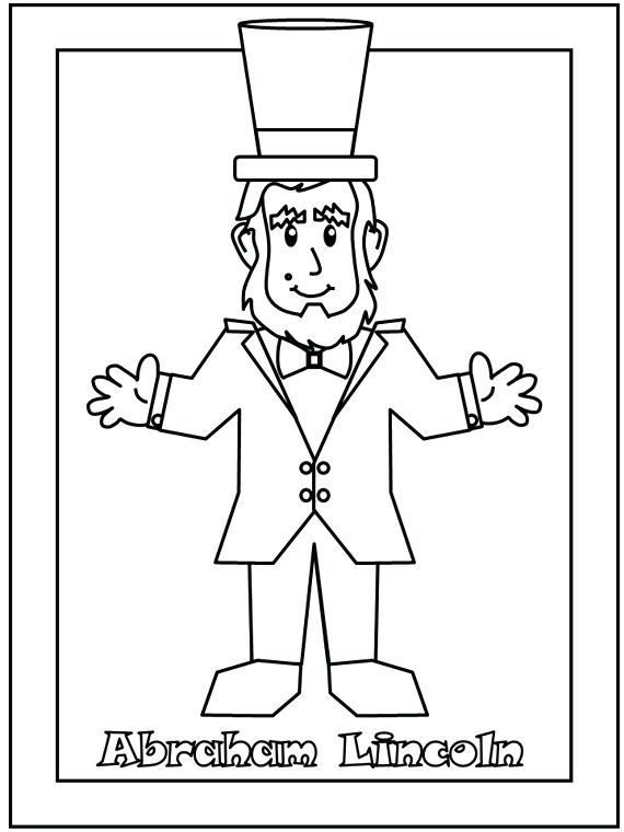 570x760 Presidents Day Coloring Pages Presidents Day Coloring Pages