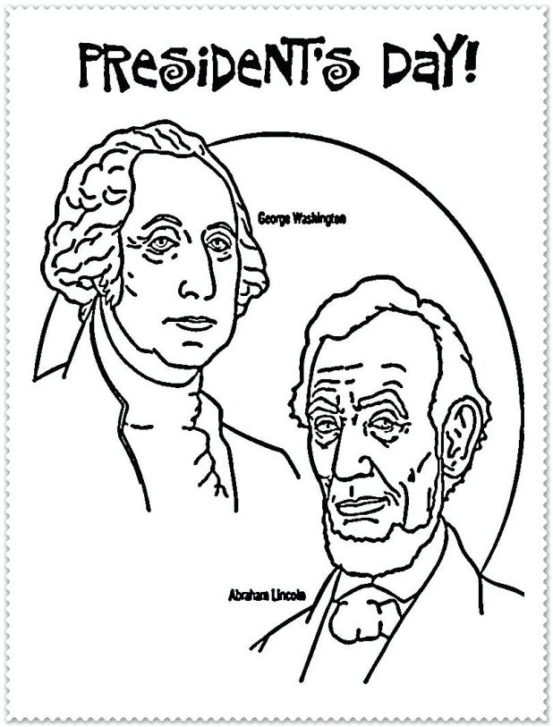 618x813 The Most Amazing Collection Of Coloring Pages For President Day