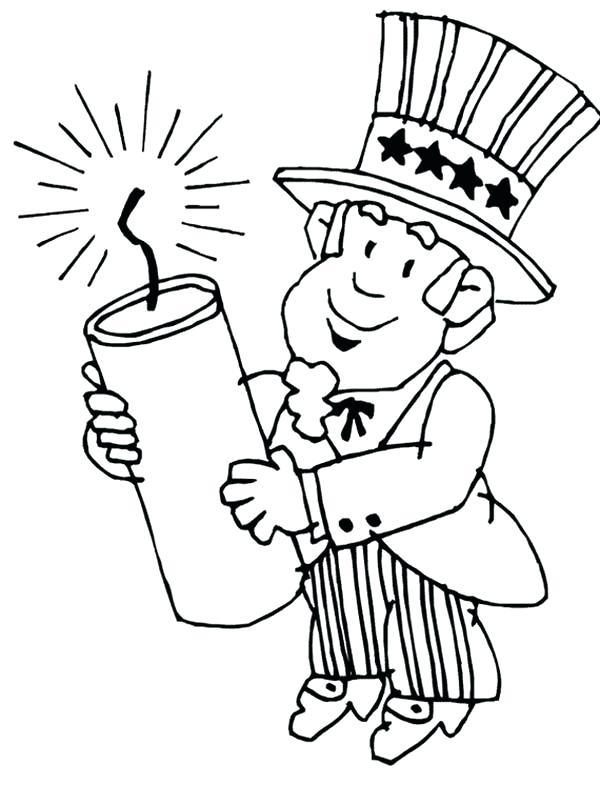 600x806 Coloring Pages For Presidents Day Presidents Day Uncle Holding