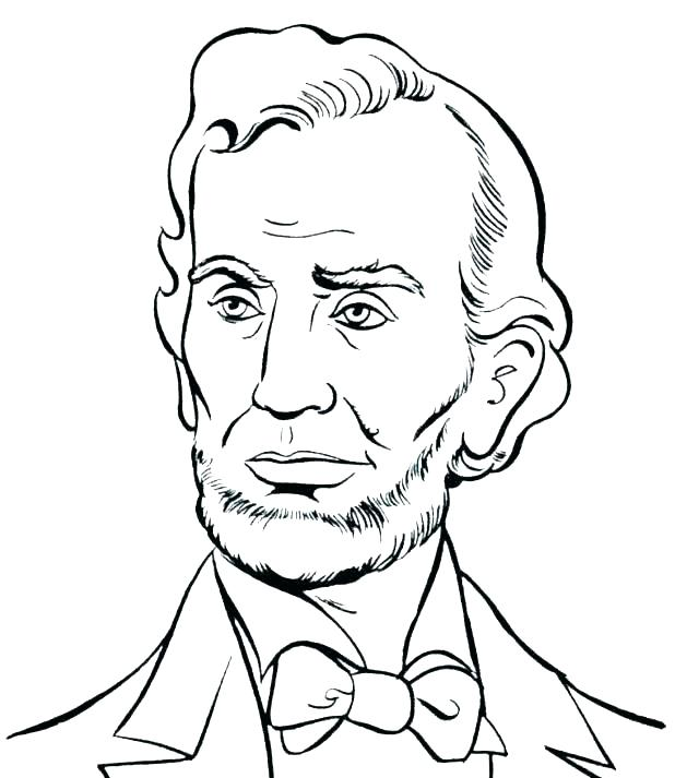 618x713 Coloring Pages Of Presidents Presidents Coloring Pages Presidents