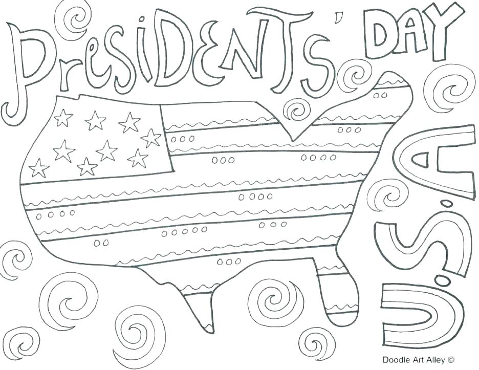 936x723 Coloring Pages Of Presidents