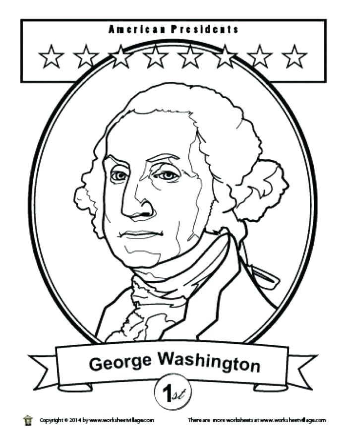 Presidents Day Printable Coloring Pages