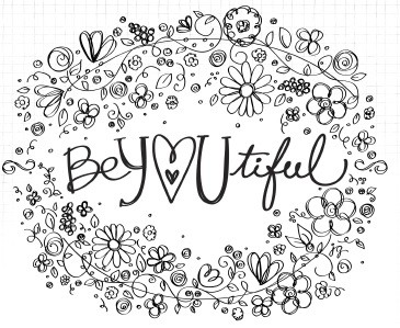365x299 Pretty Printable Coloring Pages