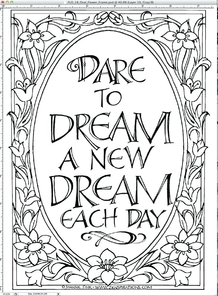 736x998 Pretty Coloring Pages Best Quote Coloring Pages Ideas On Adult