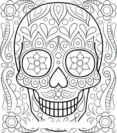 450x513 Beautiful Flower Coloring Pages Adult Flower Coloring Pages Pretty