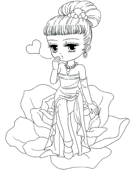 570x713 Pretty Girl Coloring Pages Pretty Coloring Pages Pretty Coloring