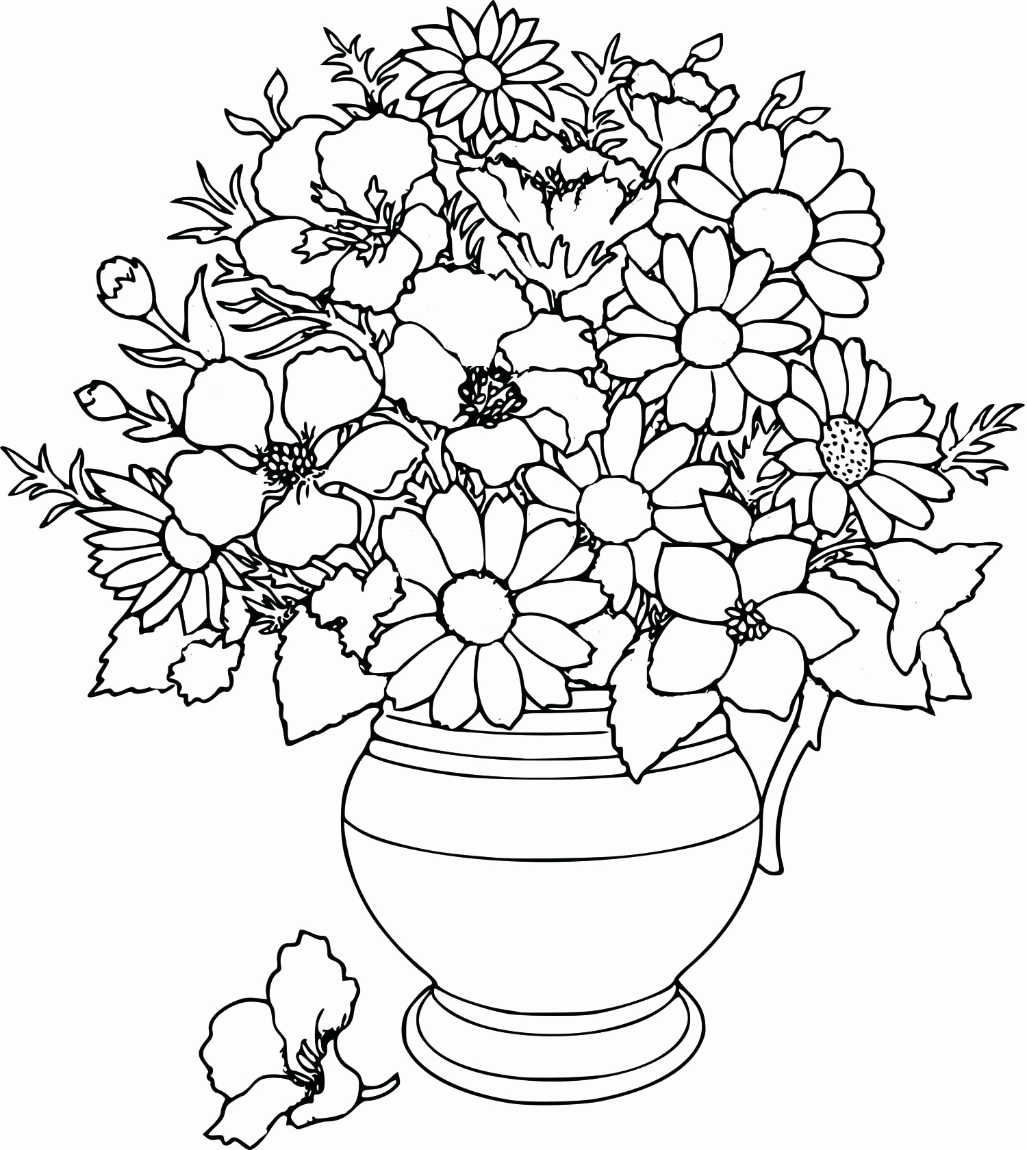 1500x1680 Coloring Pages Free For Kids Lovely Flowers Coloring Pages Print