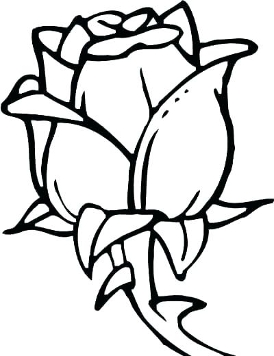 400x520 Small Flower Coloring Pages
