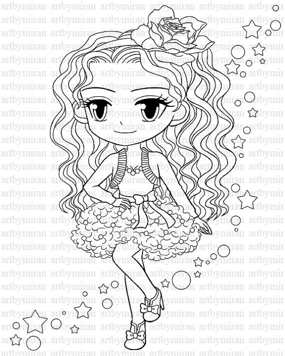 Pretty Girl Coloring Pages at GetDrawings.com   Free for personal ...